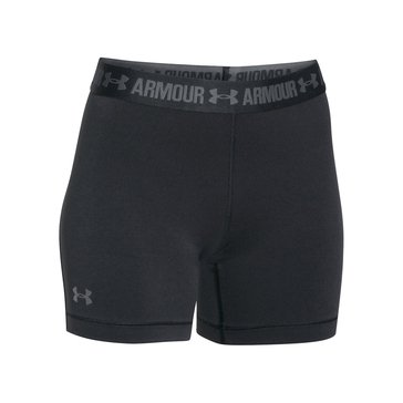 Under Armour Women's HeatGear Armour Middy Short