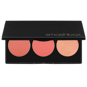Smashbox LA Lights Blush & Highlight Palette - Culver City Coral