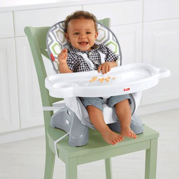 Fisher-Price Space Saver High Chair, Geo Meadow