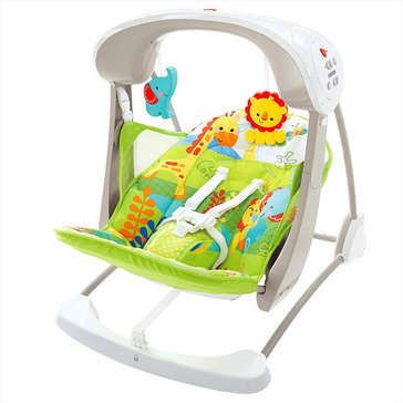 Fisher-Price Rainforest Friends Take Along Swing