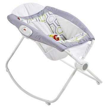 Fisher-Price Rock 'n Play Sleeper, Grey