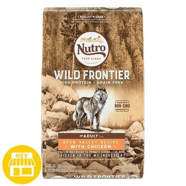Nutro Wild Frontier Grain Free Chicken Dry Dog Food,  24 lbs.