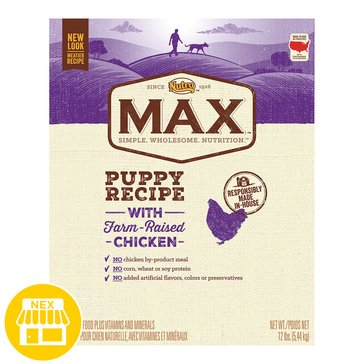 Nutro Max Puppy With Chicken Dry Dog Food, 12 lbs.