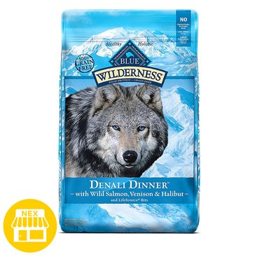 Blue Buffalo Wilderness Denali Dinner Dry Dog Food, 22 lbs.