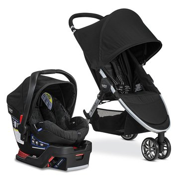 Britax B-Agile Travel System, B-Safe 35, Black