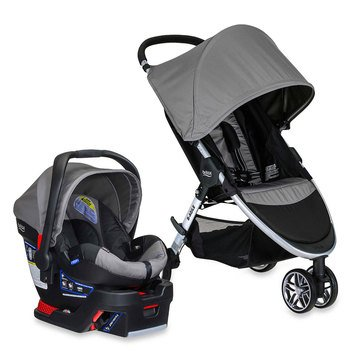 Britax B-Agile Travel System, B-Safe 35, Steel