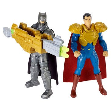 Batman v Superman- Ultimate Battle Batman v Superman Figure 2-Pack