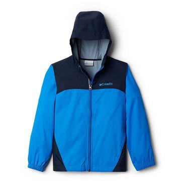Columbia Big Boys' Glennaker Rain Jacket, Blue