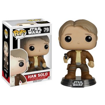 Pop! Star Wars: Star Wars Episode 7 - Han Solo Bobble Figurine