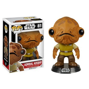 Pop! Star Wars Episode 7 - Admiral Ackbar Bobble Figurine