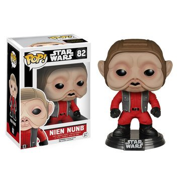 Pop! Star Wars: Star Wars Episode 7 - Nien Nunb Bobble Figurine