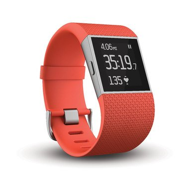 Fitbit Surge Fitness Superwatch - Tangerine / Large