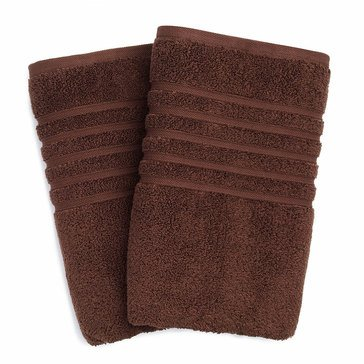 Hotel Collection Microcotton Hand Towel, Chocolate