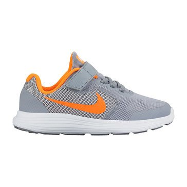 Nike Revolution 3 Boy's Running Shoe-Stealth