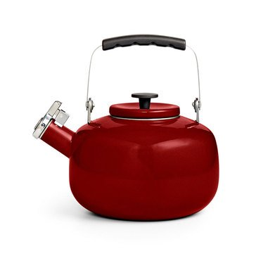 Martha Stewart Collection Tea Kettle, Cranberry