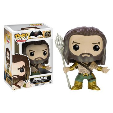 Pop! DC Comics: Batman v Superman - Aquaman Bobble Figurine