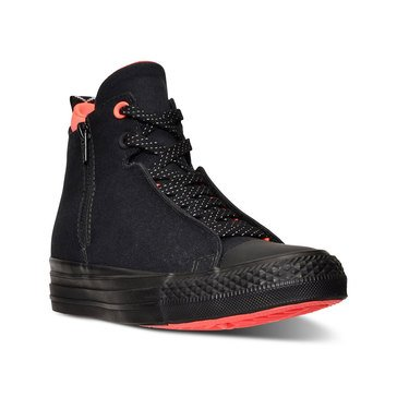 Converse All Star Selene Shield Mid Top Wedge Black/Lava/Black