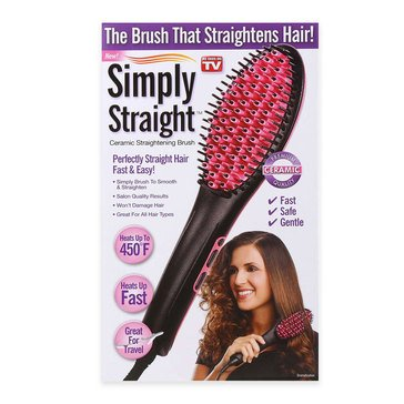 Simply Straight - The Brush that Straightens Your Hair