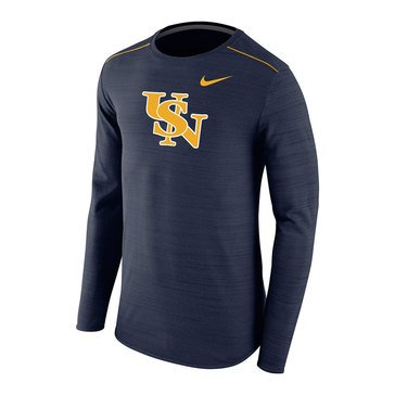 Nike Men's USN Link Player Slant Long Sleeve Tee