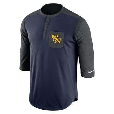 Nike Men's USN Link Dri-FIT Touch Henley Top