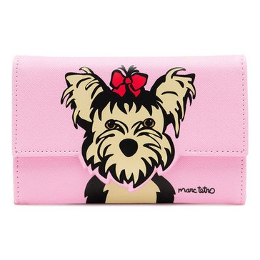 Marc Tetro Saffiano Cutout iPhone Wallet Pink