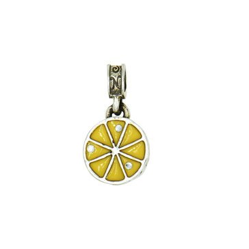 Nomades Sterling Silver Naples Italy Lemon Charm