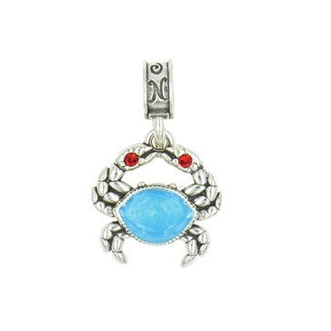 Nomades Patuxent River Mad Blue Crab Charm
