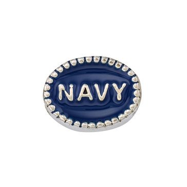 Nomades Navy Beaded Spacer