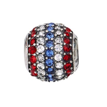 Nomades Sparkle Pave Patriotic Spacer