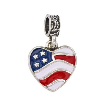 Nomades Heart of America Charm