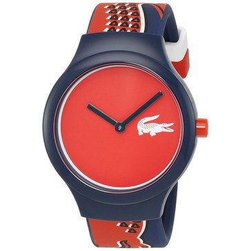 Lacoste Unisex Goa Silicone Strap Watch 40mm