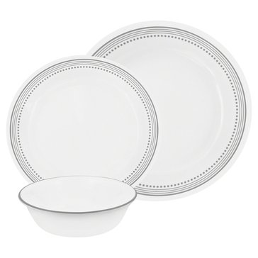 Corelle Mystic Gray 16-Piece Dinnerware Set