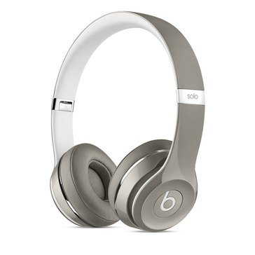 Beats by Dr. Dre Solo 2 Luxe Edition Headphones - Silver