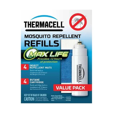 Thermacell Max Life Mosquito Repeller Refill