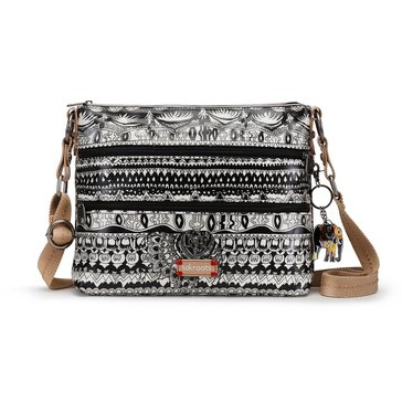 Sakroots Basic Crossbody White One World