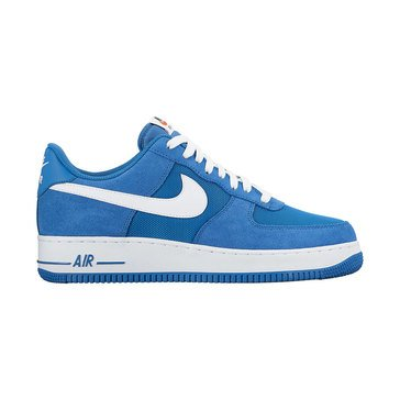 Nike Air Force 1 Low Men's Basketball Shoe Star Blue/ White