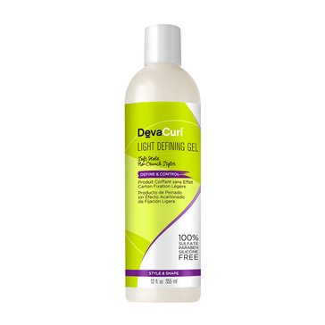 DevaCurl Light Defining Gel Soft Hold No-Crunch Styler 12oz