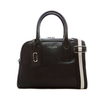 Marc Jacobs Gotham City Small Bauletto Satchel Black