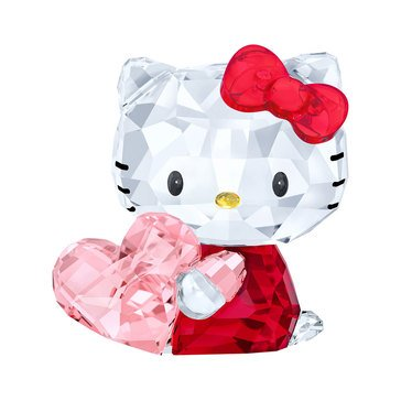 Swarovski Crystal Living Hello Kitty Pink Heart