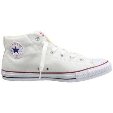 Converse Chuck Taylor All Star Street Mid Top Men's Shoe White/ Natural/ White