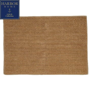 Gold Collection 20x32 Bath Rug, Almond