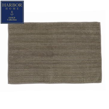 Gold Collection 20x32 Bath Rug, Shadow Grey