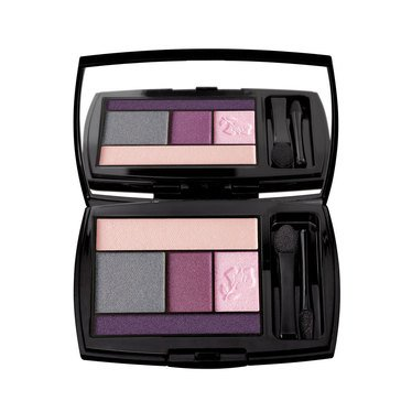 Lancome Color Design Eye Brightening All-In-One 5 Shadow & Liner Palette - Rose Tempete