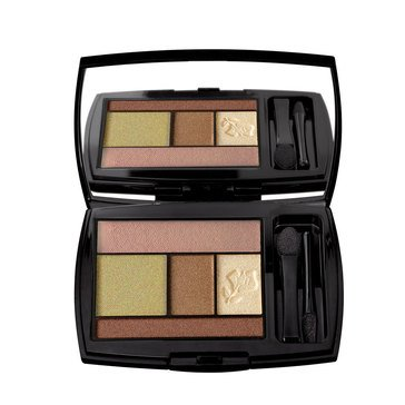 Lancome Color Design Eye Brightening All-In-One 5 Shadow & Liner Palette - Olive Soleil