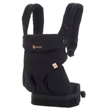 Ergobaby 4-Position 360 Baby Carrier, Pure Black