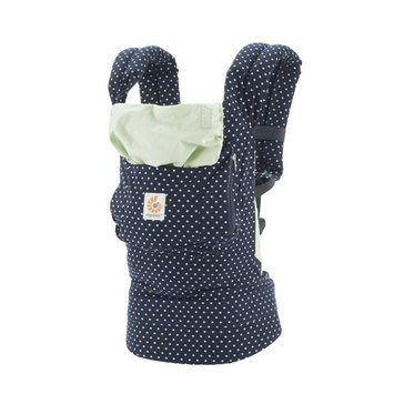 Ergobaby Original Baby Carrier, Indigo Mint Dots