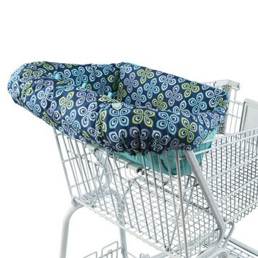 Comfort & Harmony Shopping Cart Liner, Navy Tile