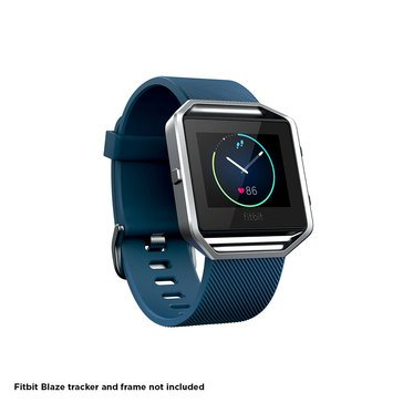 Fitbit Blaze Classic Band - Blue - Large