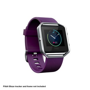 Fitbit Blaze Classic Band - Plum - Small