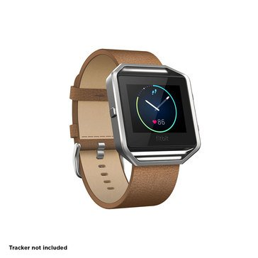 Fitbit Blaze Classic Leather Band - Camel - Large